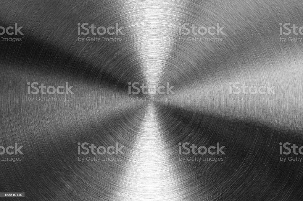 Close-up of the texture of stainless steel stock photo