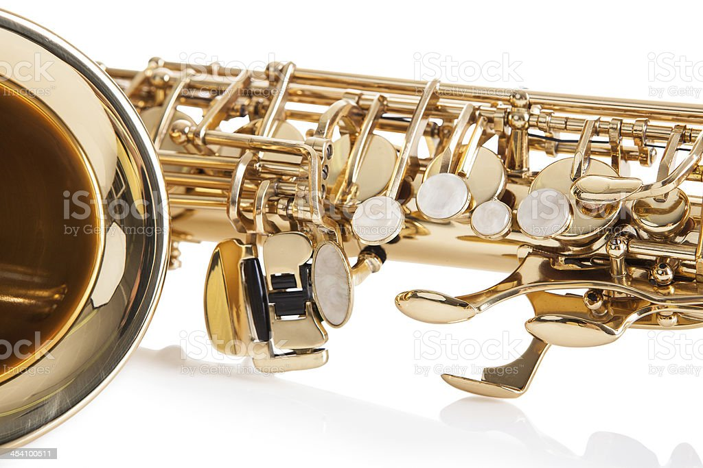 Close-up Of Trumpet royalty-free stock photo