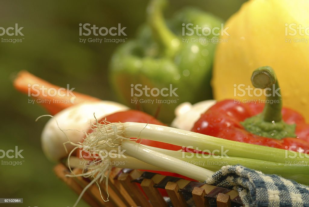 Closeup of vegetables royalty-free stock photo