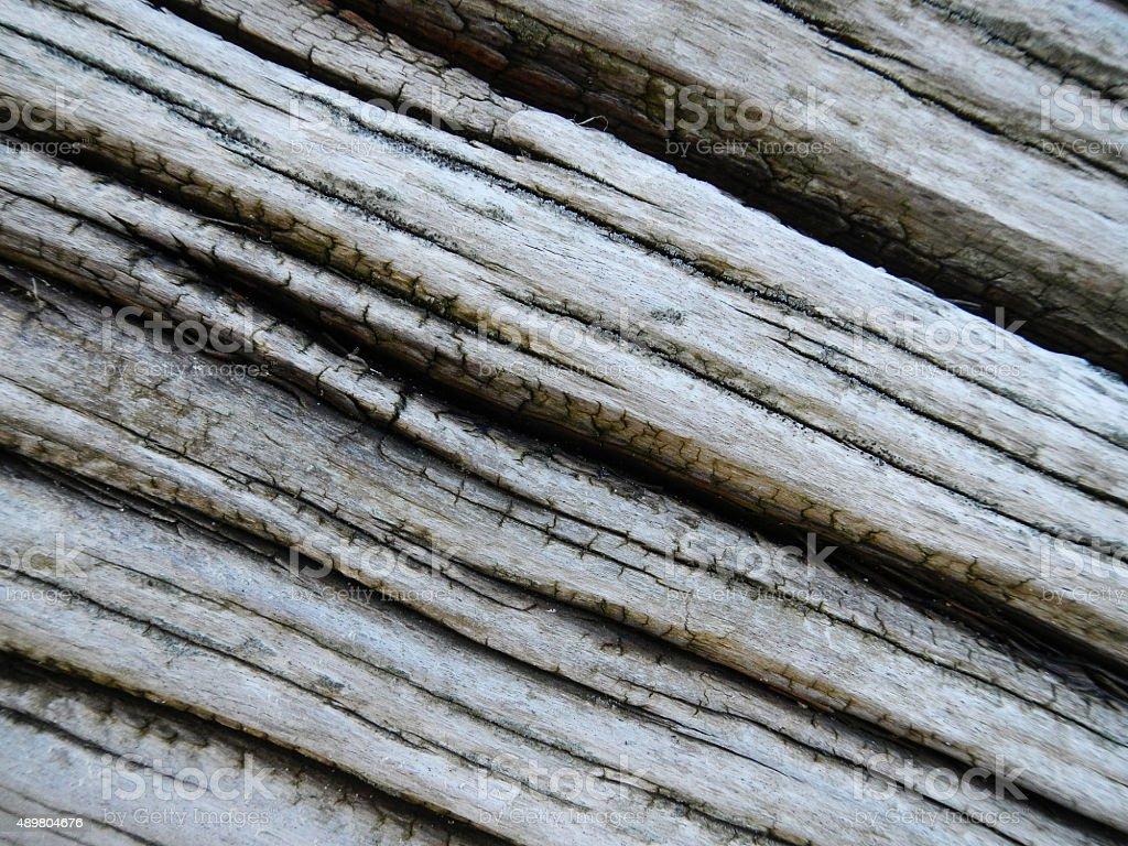 Close-up of weathered wood stock photo