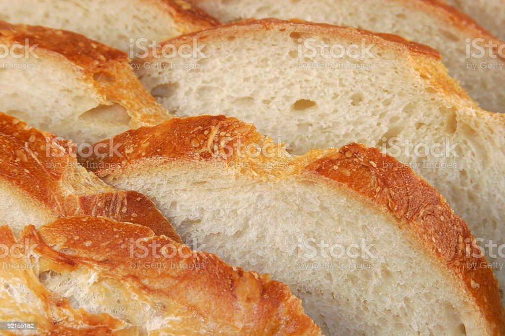 closeup of wholesome bread royalty-free stock photo
