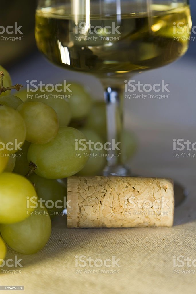 Closeup of Wine stock photo