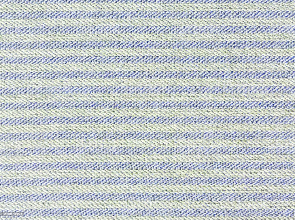 Closeup old and pale blue fabric mat texture background stock photo