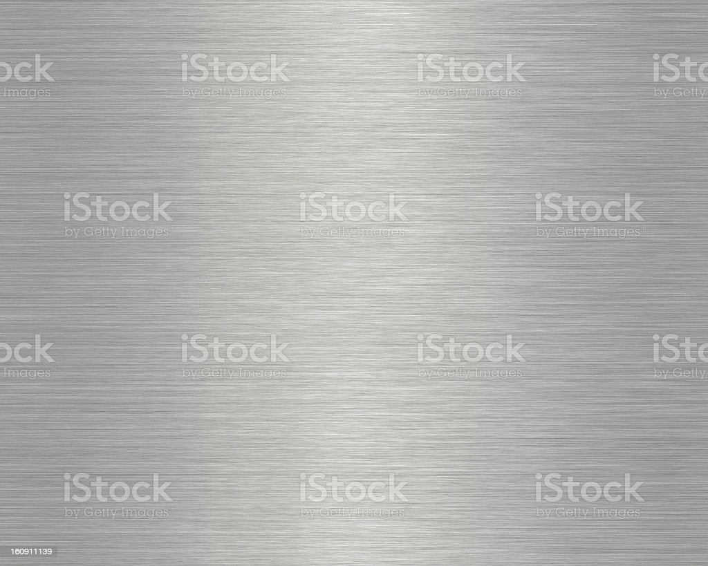Close-up photograph of a metal surface stock photo