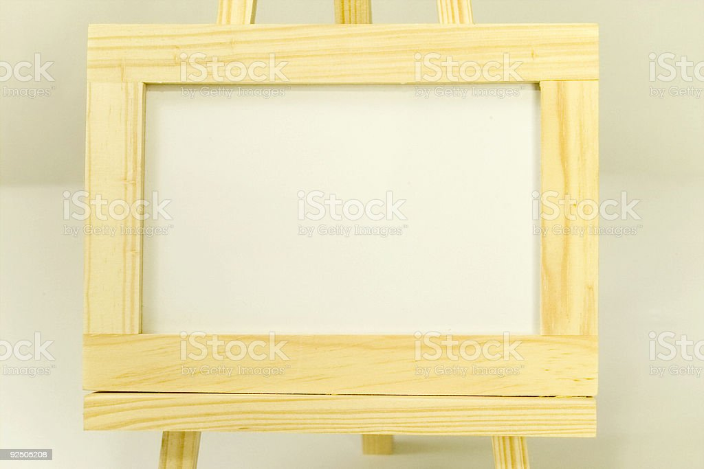 Closeup Picture Frame royalty-free stock photo