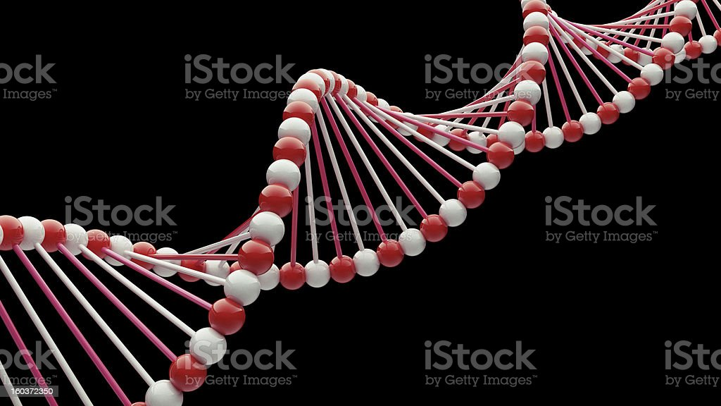 DNA Close-up royalty-free stock photo