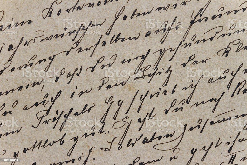 Vintage-Buchstaben – Foto