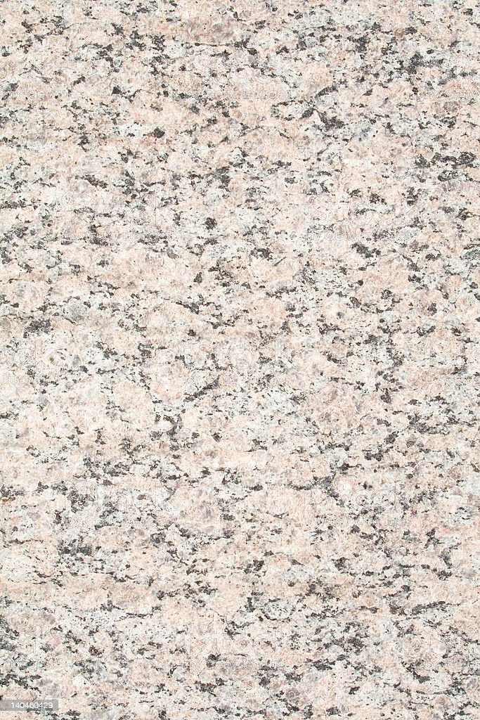 Closeup Pink Gneiss Stone With Black Specks royalty-free stock photo