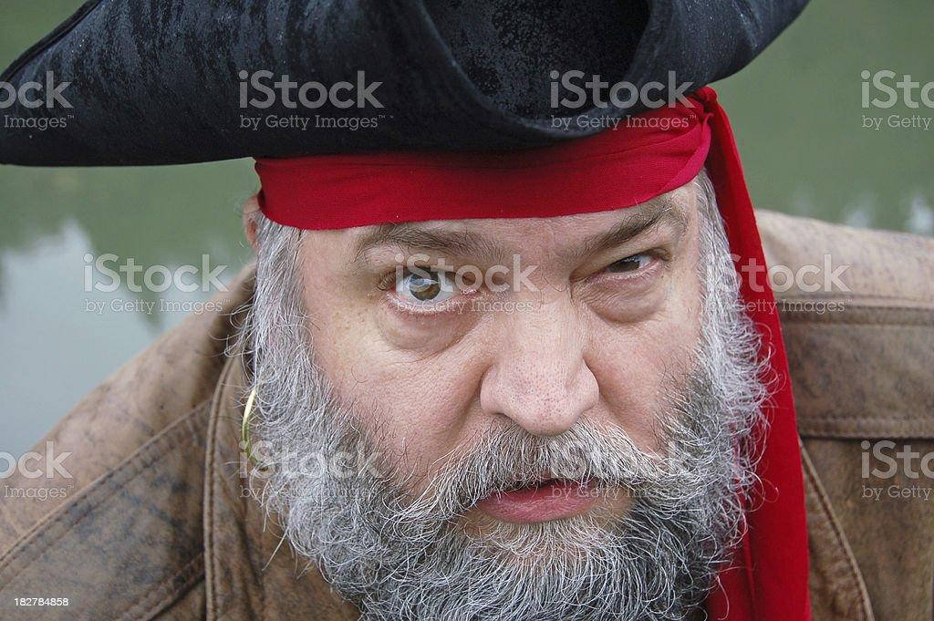 Close-up Pirate stock photo