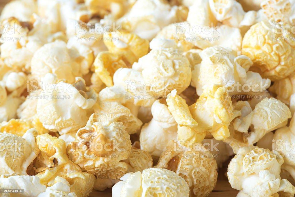 Close-up popcorn stock photo