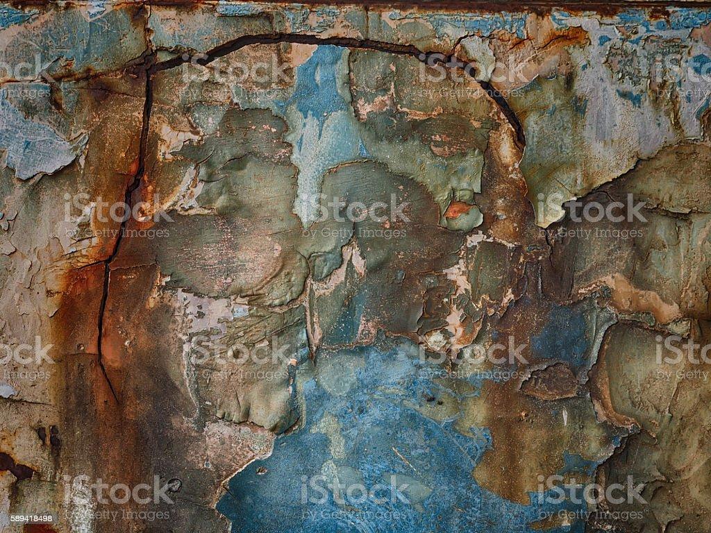 closeup rusty metal stock photo