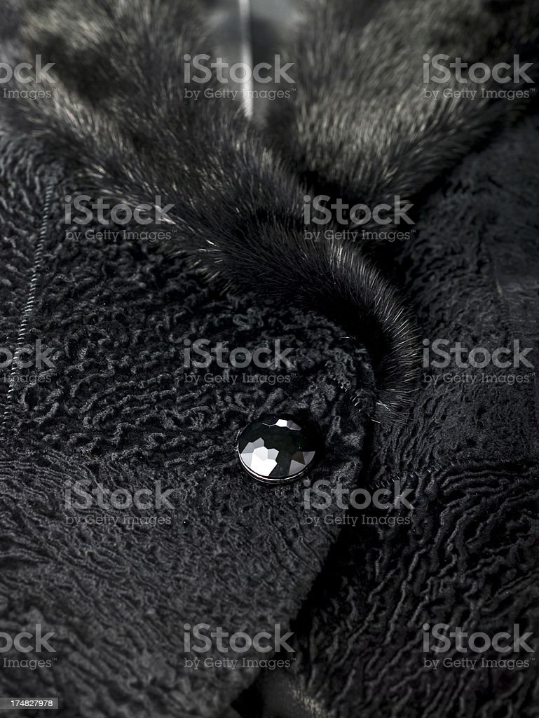 Close-up shot of a jacket stock photo