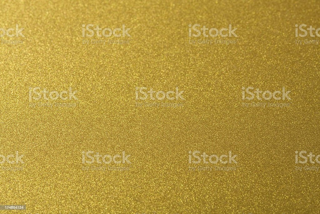 Closeup shot of abstract golden background. stock photo