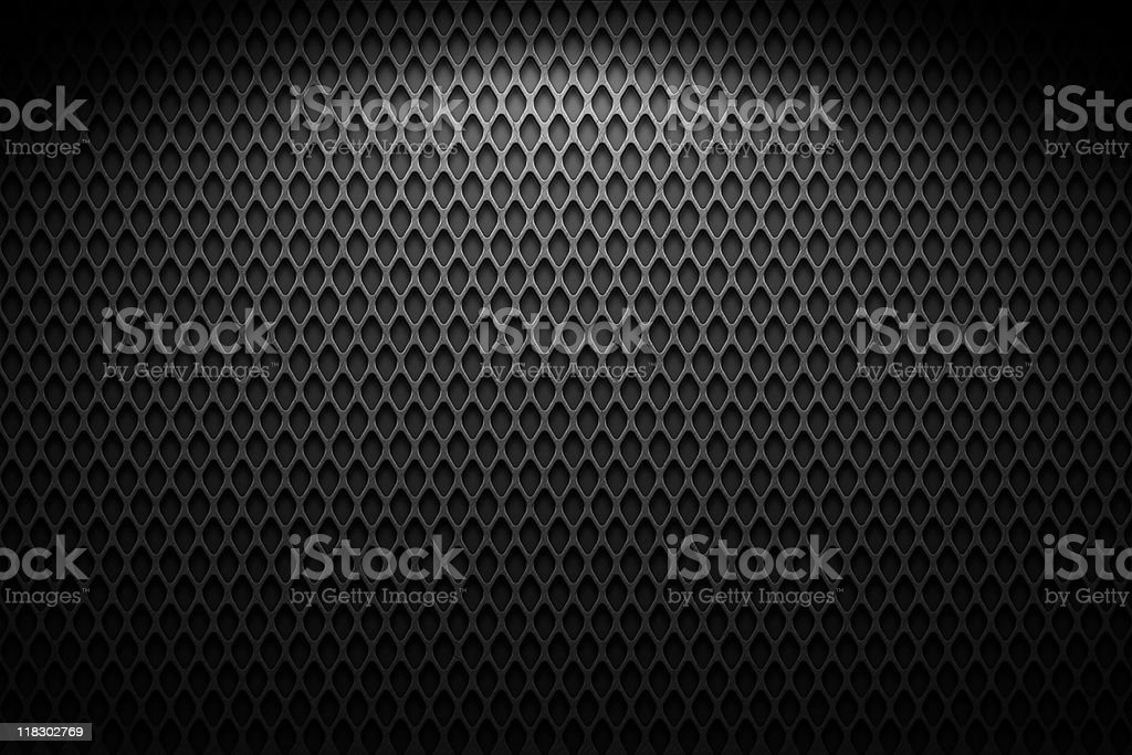 A closeup shot of wire mesh displaying the diamond patterns stock photo