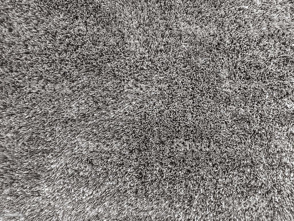 Closeup surface black fabric carpet textured background stock photo