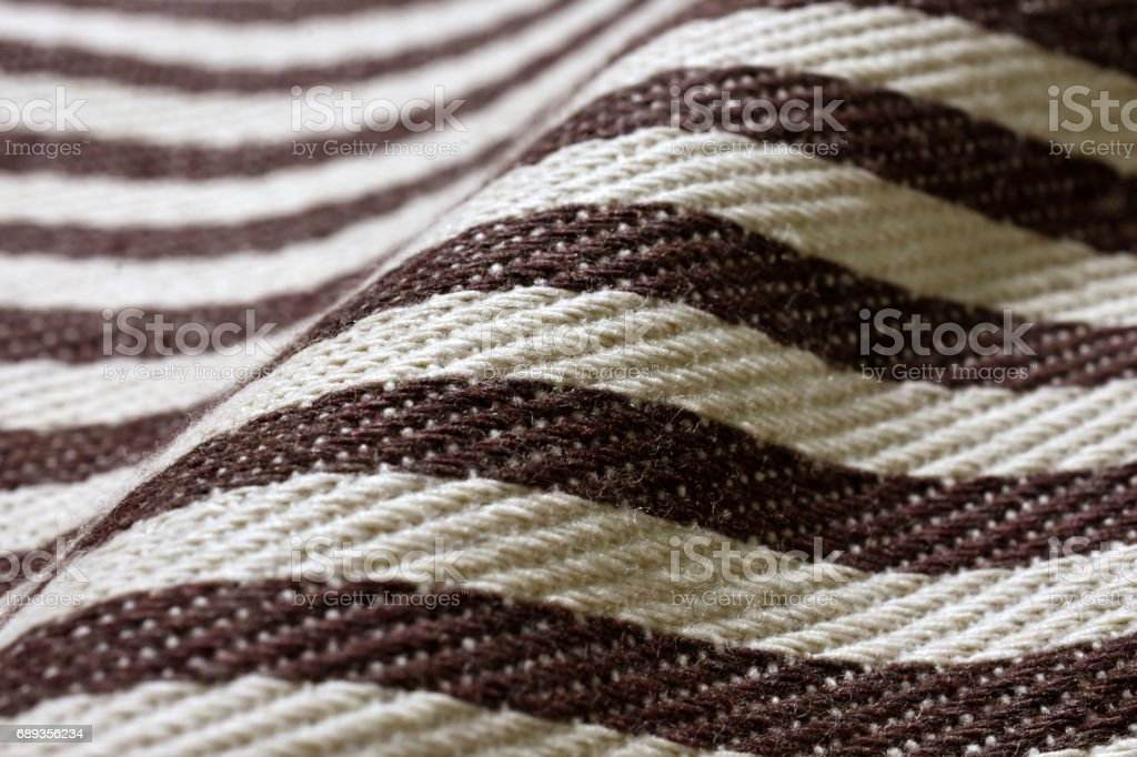 Close-up surface of  Fabric texture  (shallow DOF) stock photo