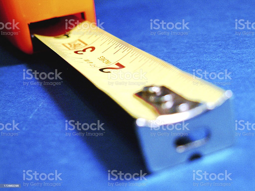 Close-up Tape Measure royalty-free stock photo