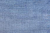 closeup texture pattern of blue jean