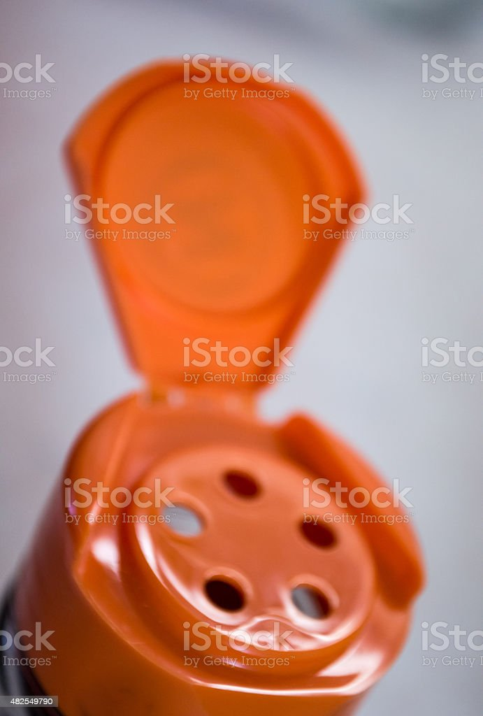 Close-up View of a Spice Shaker/Container royalty-free stock photo