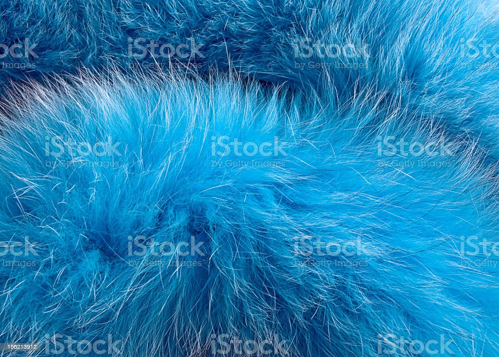 Closeup view of fake fur which looks real stock photo