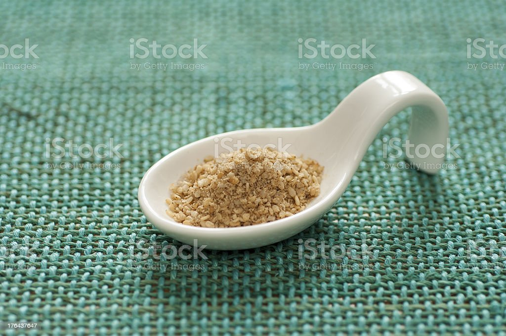 Close-up view of Gomasio royalty-free stock photo