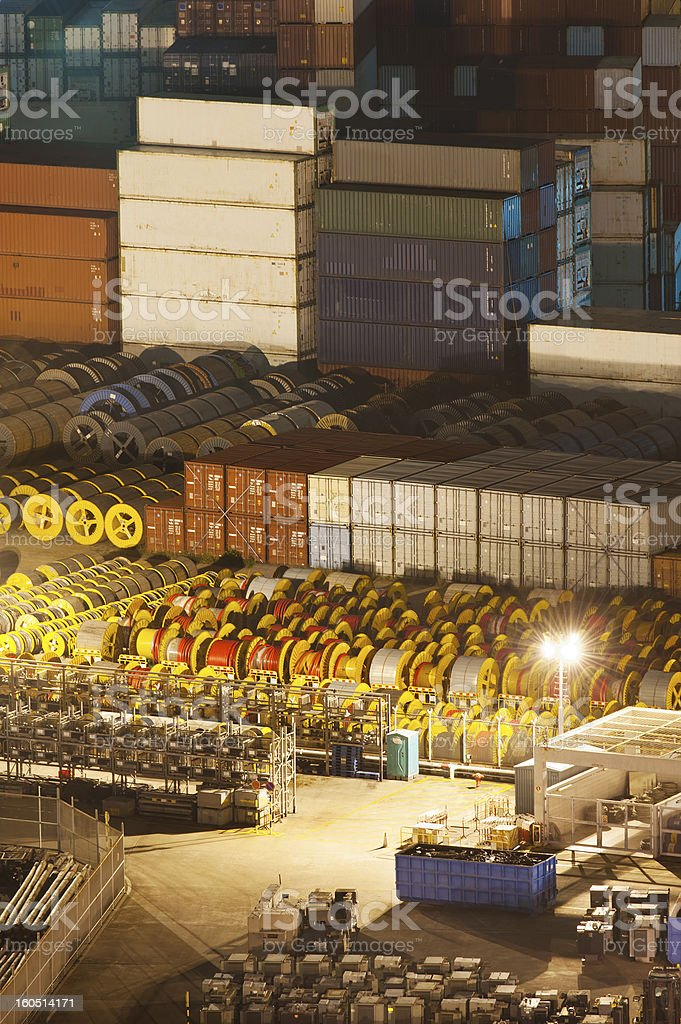 Closeup view of Port royalty-free stock photo