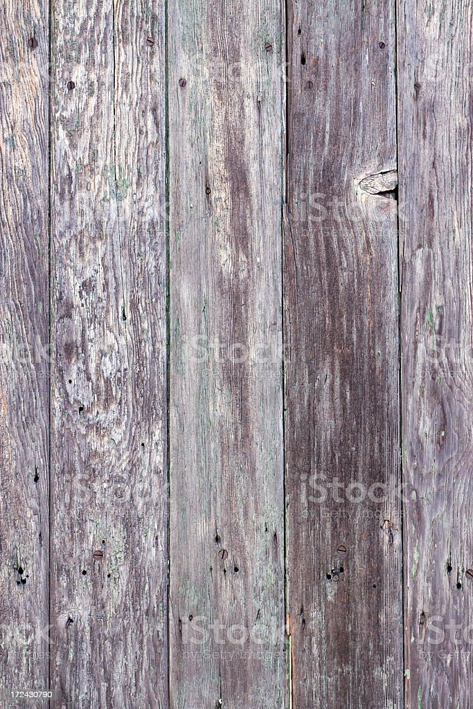 Closeup weathered wooden fence, copy space royalty-free stock photo