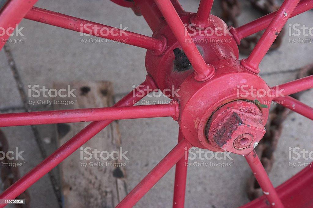Closeup Wheel royalty-free stock photo