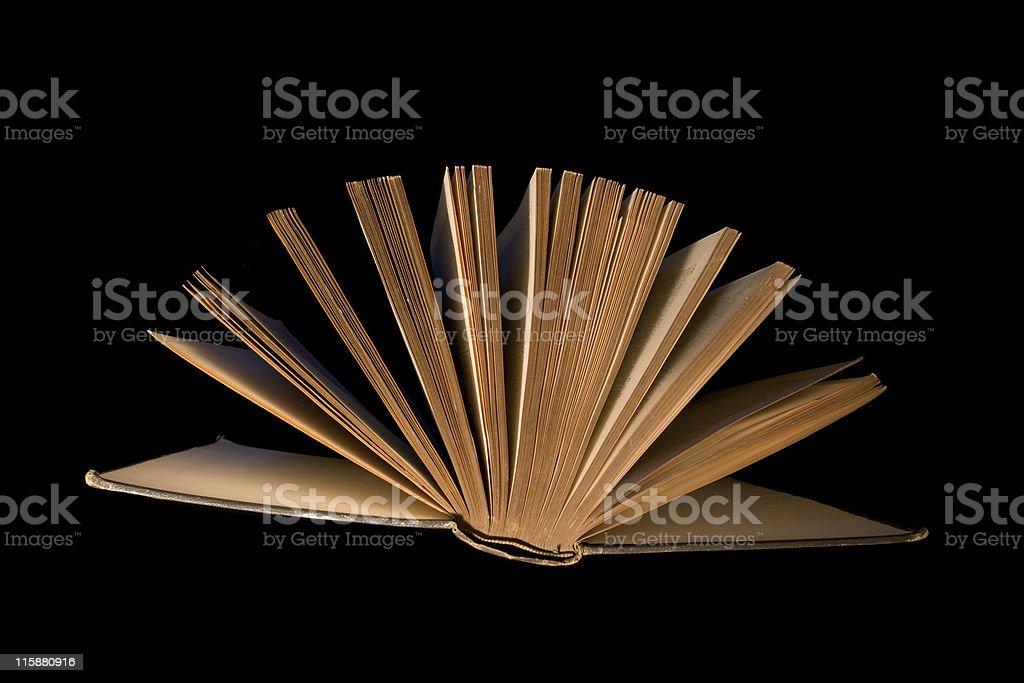 Closing Book royalty-free stock photo