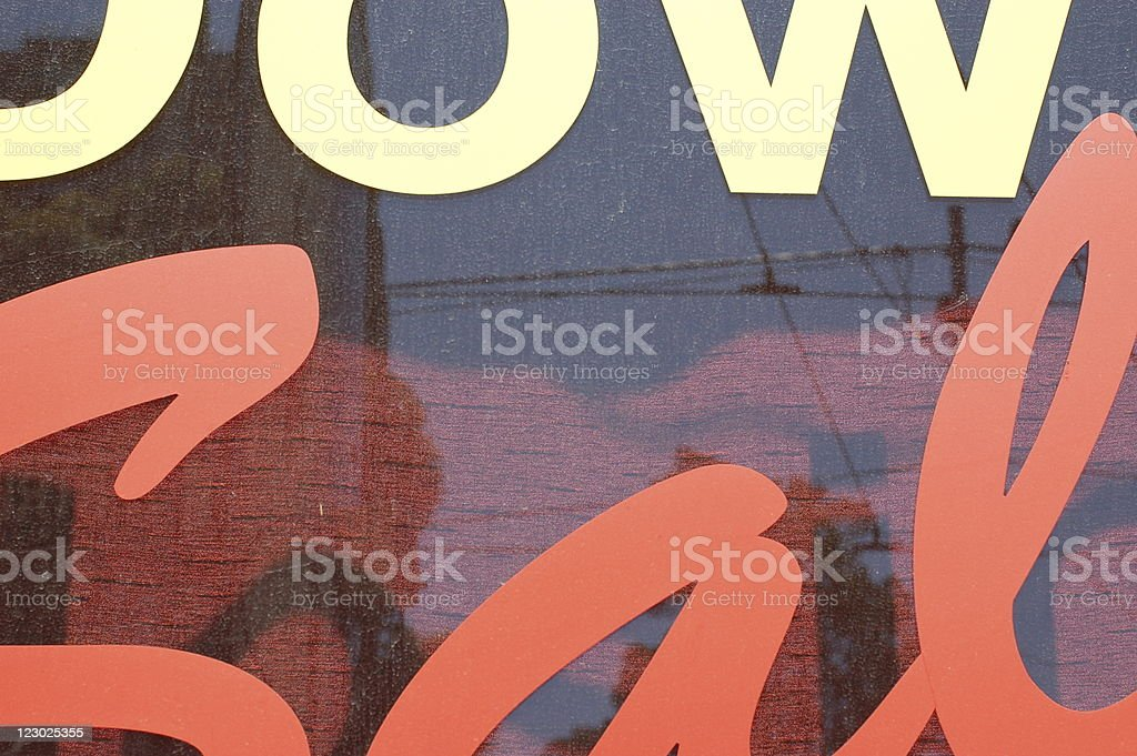 closing down sale royalty-free stock photo