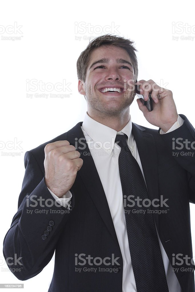 closing the deal royalty-free stock photo