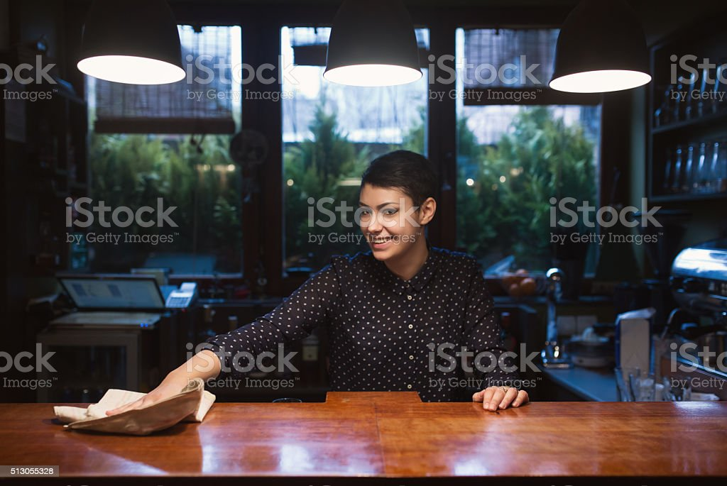 Closing Time! stock photo