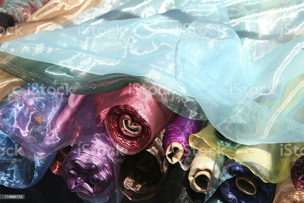 cloth bale royalty-free stock photo