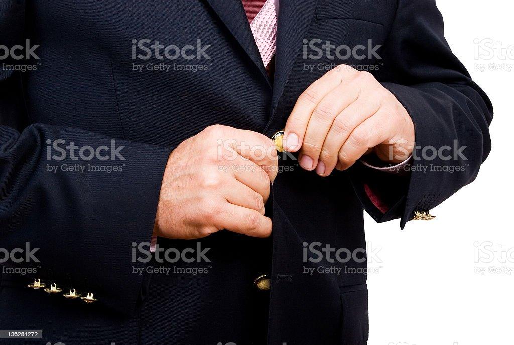 cloth blazer Jacket royalty-free stock photo