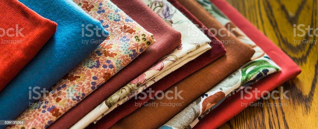 cloth fabric stock photo