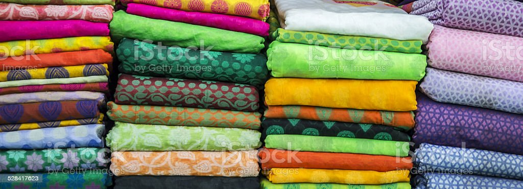 Cloth folds on sale stock photo