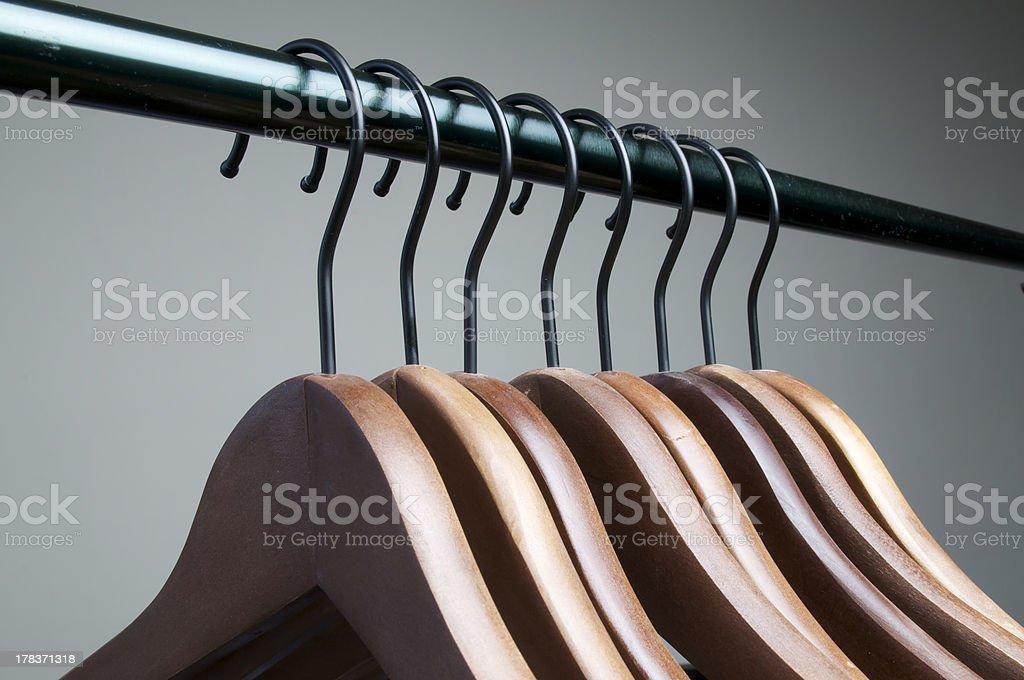 cloth hanger royalty-free stock photo