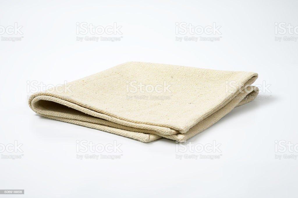 cloth place mat stock photo