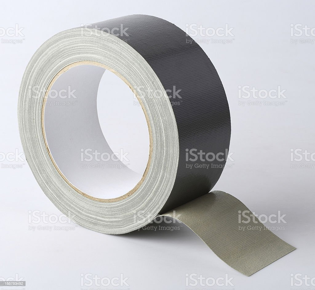 Cloth tape royalty-free stock photo