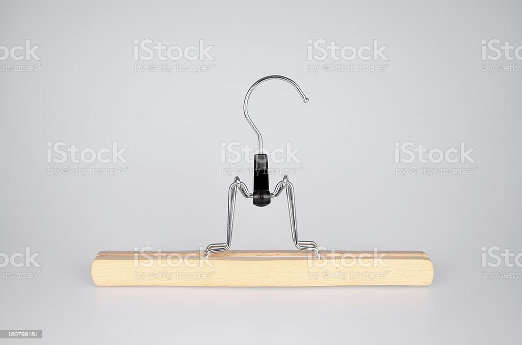 Clothes Hanger royalty-free stock photo