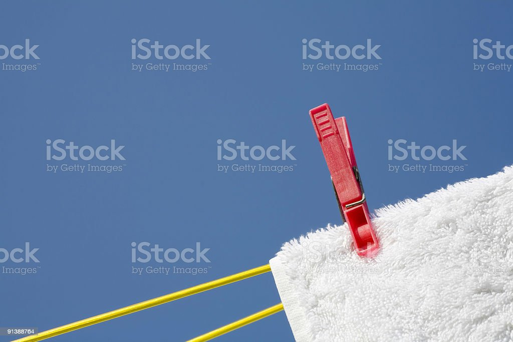 Clothes peg royalty-free stock photo