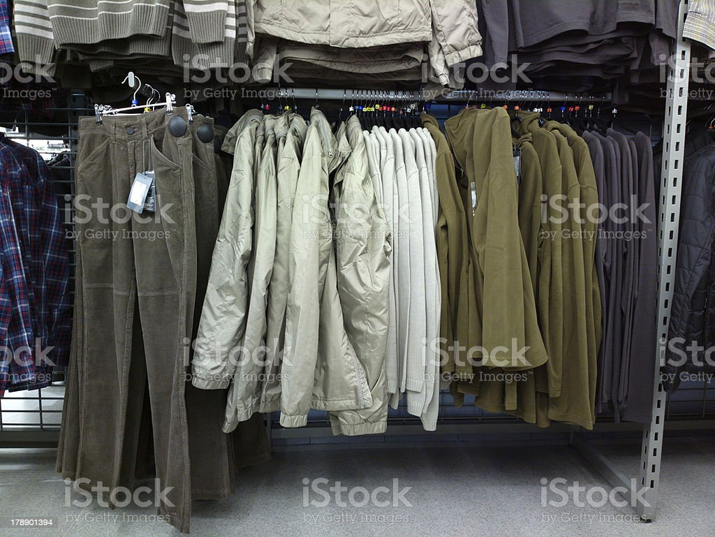 Clothes. royalty-free stock photo