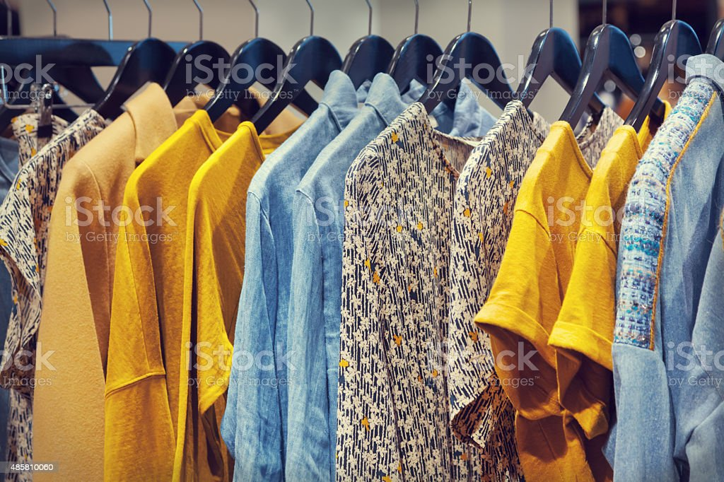 Clothes stock photo