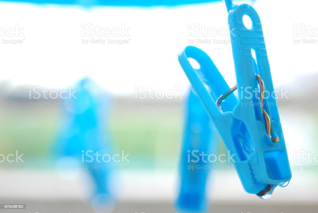 Clothespin stock photo