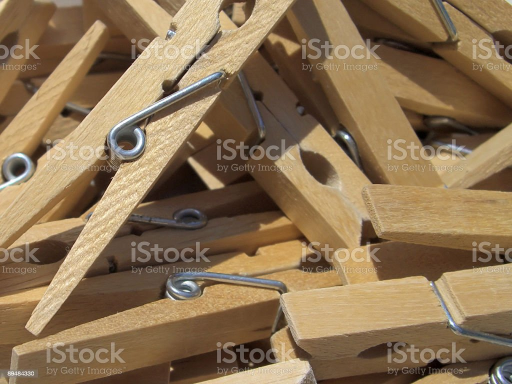 clothespin royalty-free stock photo