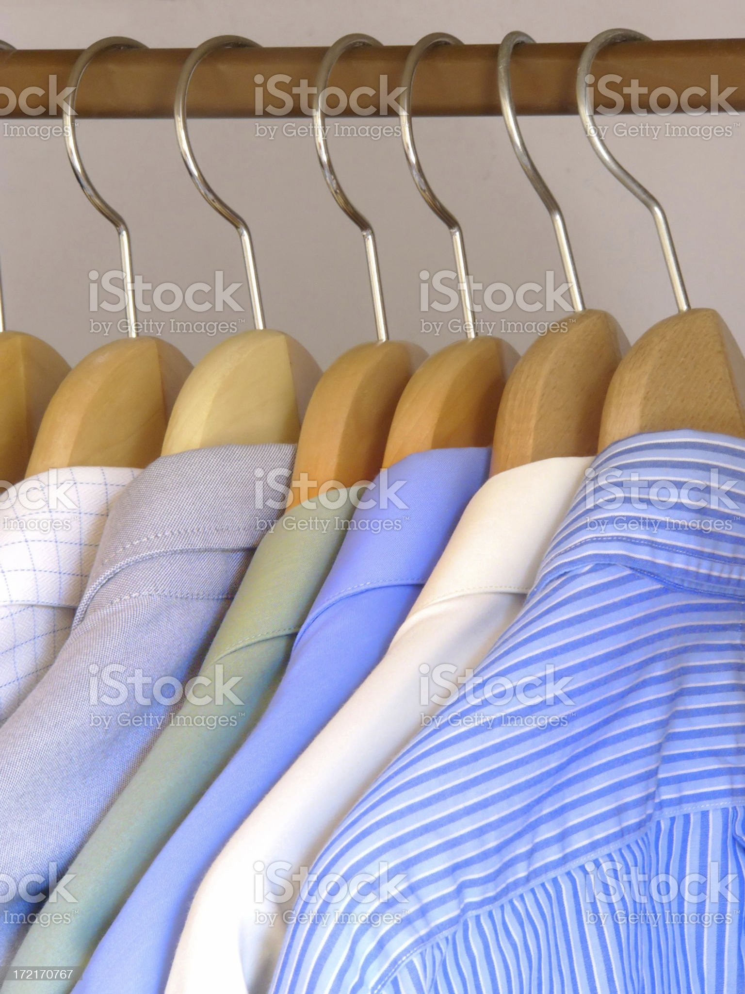 Clothes.Shirts. royalty-free stock photo