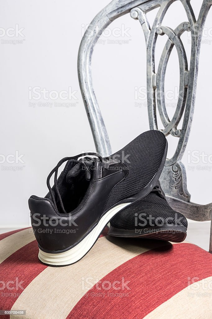 Clothing and fashion accessories stock photo