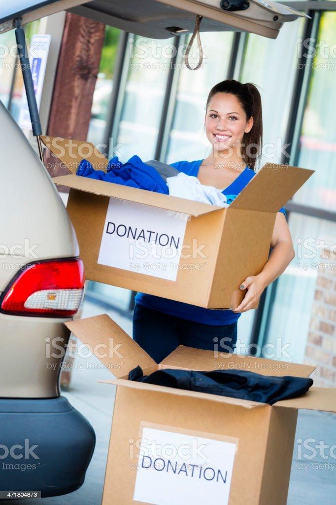 Clothing Donation royalty-free stock photo