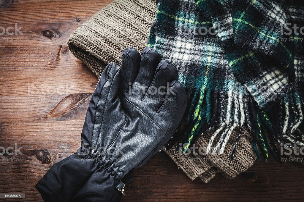clothing for winter royalty-free stock photo