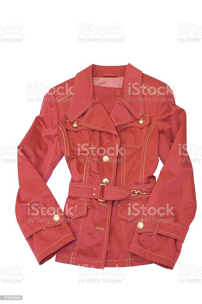 clothing jacket royalty-free stock photo